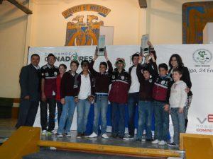 Equipo 6514A y 6514B – Recibiendo trofeos al Primer Lugar del Torneo